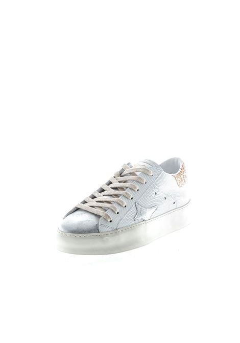 Ama Brand sneaker rettile/laminato bianco AMA BRAND | Sneakers | 1512PELLE-BIANCO/ROSA