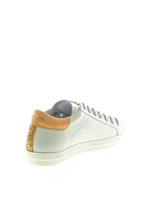 Ama Brand sneaker pelle glitter bianco AMA BRAND DELUXE | Sneakers | 1513PELLE-BIANCO