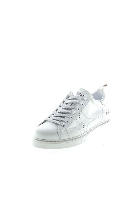 Ama Brand sneaker pelle bianco/argento AMA BRAND DELUXE | Sneakers | 1557PELLE-BIANCO/ARGENTO