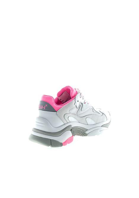 Ash sneaker addict bianco/rosa ASH | Sneakers | ADDICT10NAPPA-WHT/PINK