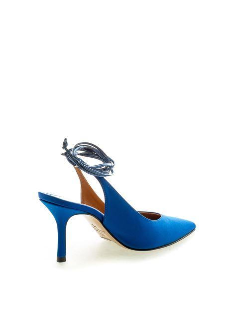 Ashley Cole chanel raso blu elettrico t80 ASHLEY COLE | Décolleté | PAS352RASO-BLUETTE