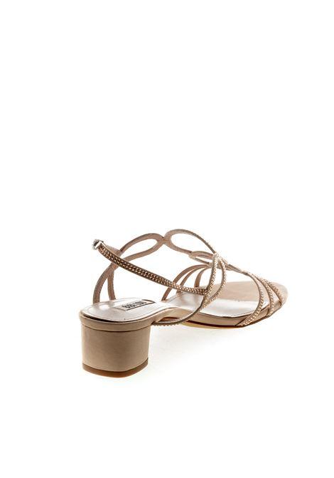 Bibi lou sandalo cerchi raso/strass taupe BIBI LOU   Sandali   787RASO/STRASS-TAUPE