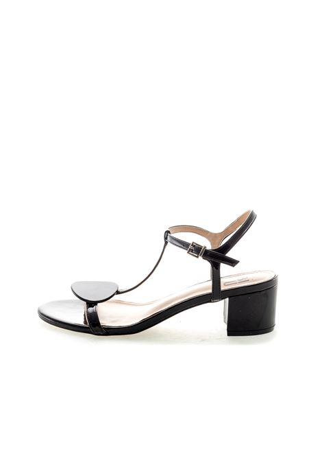 Bibi lou sandalo con bottone vernice nero BIBI LOU | Sandali | 871VERNICE-NERO