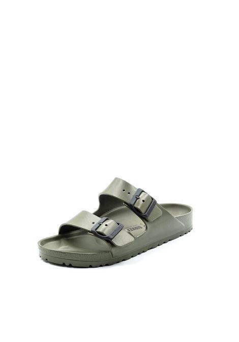 Birkenstock sandalo arizona eva khaki BIRKENSTOCK | Sandali flats | ARIZONA EVA129491-KHAKI