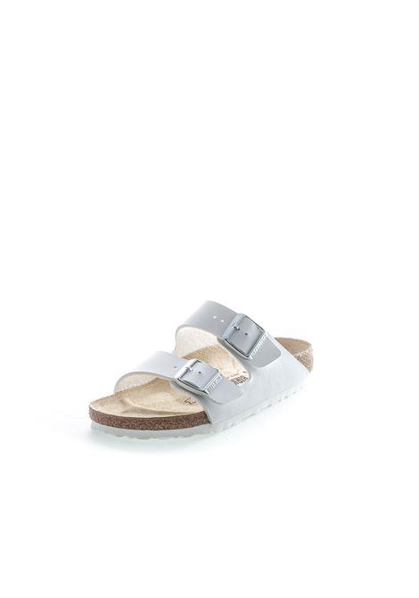Birkenstock sandalo arizona bianco BIRKENSTOCK | Sandali flats | ARIZONA051733-WHITE