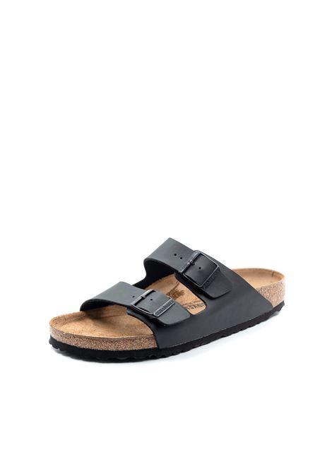Birkenstock sandalo arizona nero BIRKENSTOCK | Sandali flats | ARIZONA051793-BLACK