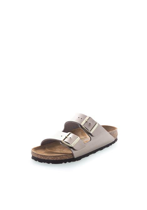 Birkenstock sandalo arizona electric taupe BIRKENSTOCK | Sandali flats | ARIZONA1012972-TAUPE