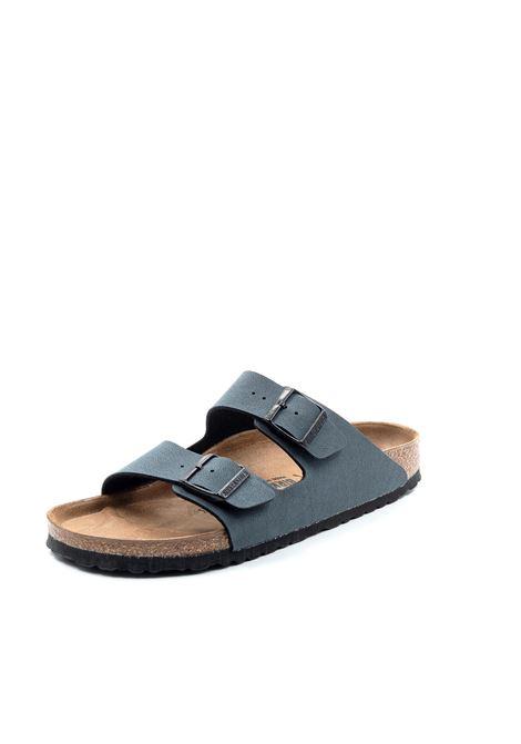 Birkenstock sandalo arizona basalt BIRKENSTOCK | Sandali flats | ARIZONA651163-BASALT