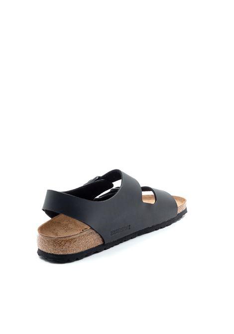 Birkenstock sandalo milano nero BIRKENSTOCK | Sandali flats | MILANO034793-BLACK