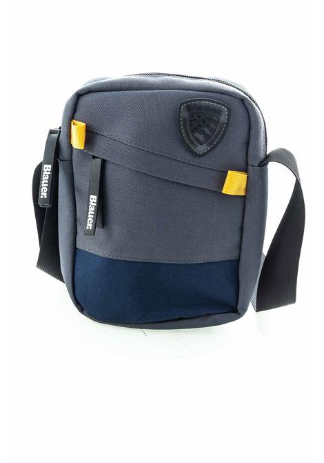 Blauer tracolla zip uniform grigio BLAUER | Borse a spalla | 956UNIFORM-GRIGIO