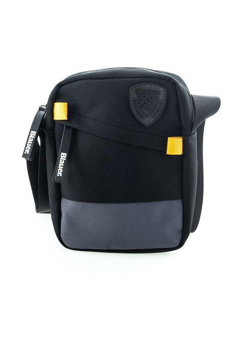 Blauer tracolla zip uniform nero  BLAUER | Borse a spalla | 956UNIFORM-NERO