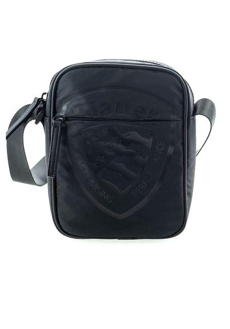 Blauer tracolla zip brooklyn nero BLAUER | Borse a spalla | 971BROOKLYN-NERO