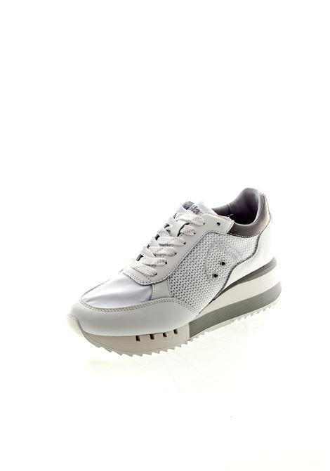 Blauer sneaker platform charlotte bianco BLAUER   Sneakers   CHARLOTTE05KNITTED/LEA-WHT