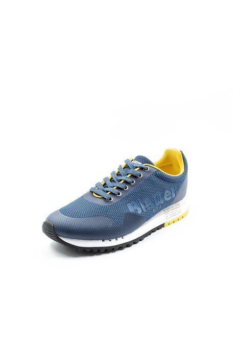 Blauer sneaker denver mesh blu BLAUER | Sneakers | DENVER01MESH-NAVY
