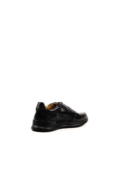 Brian Cress sneaker pelle nero BRIAN CRESS | Sneakers | X222LIVING-NERO