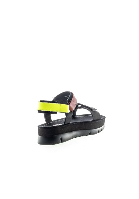 Camper sandalo oruga up nero CAMPER | Sandali flats | K201037HELLO-003