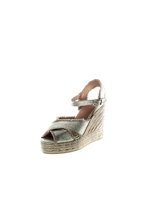 Castañer sandalo bromelia oro  CASTANER | Espadrilles | BROMELIALAM-ORO