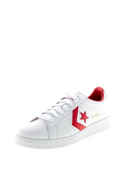 CONVERSE SNEAKER PRO LEATHER BIANCO/ROSSO CONVERSE | Sneakers | 167970CPRO LEATHER-WH/RED