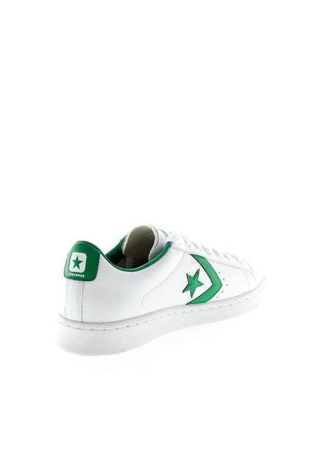 CONVERSE SNEAKER PRO LEATHER BIANCO/VERDE CONVERSE | Sneakers | 167971CPRO LEATHER-WHT/GREEN