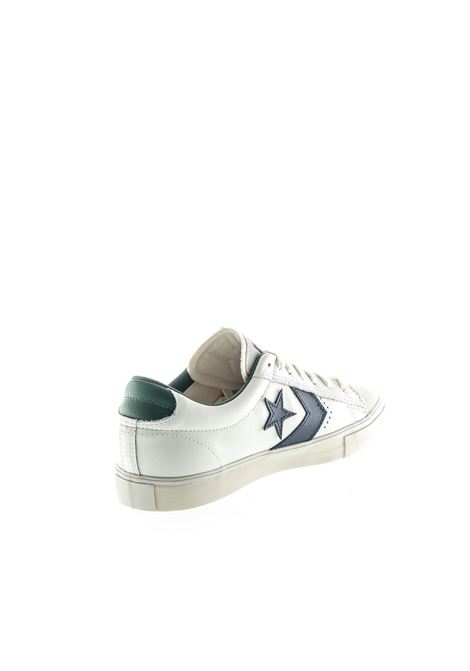 Converse Sneaker Pro Leather bianco/blu/verde CONVERSE | Sneakers | 167972CPRO LEA VULC-WHT/BL/DRI