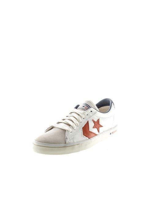 Converse Sneaker Pro Leather bianco/arancio CONVERSE | Sneakers | 167973CPRO LEA VULC-WHT/VENE