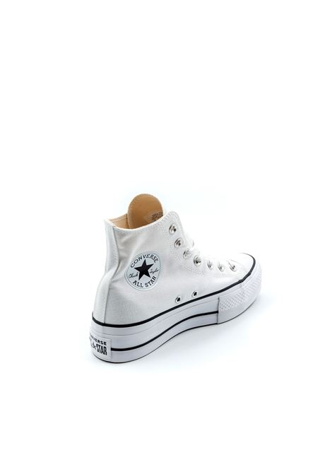CONVERSE SNEAKER MID PLATFROM CHUCK TAYLOR BIANCO CONVERSE | Sneakers | 560846CCHUCK TAYLOR-WHT