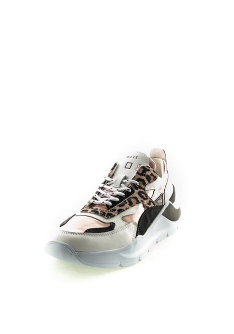 D.A.T.E SNEAKER FUGA SARIN LEOPARD MULTICOLOR DATE | Sneakers | FUGA DSATIN LEOP-PINK/SAND