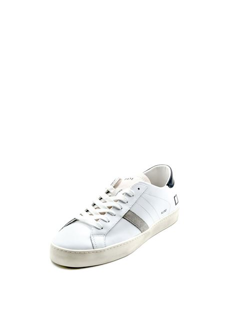 D.a.t.e. sneaker hill low bianco/nero DATE | Sneakers | HILL LOW CALFCALF-WHITE/BLACK