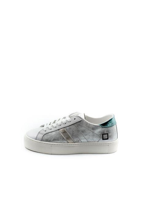 D.a.t.e. sneaker vertigo metal argento DATE   Sneakers   VERTIGOLAMINATED-SILVER
