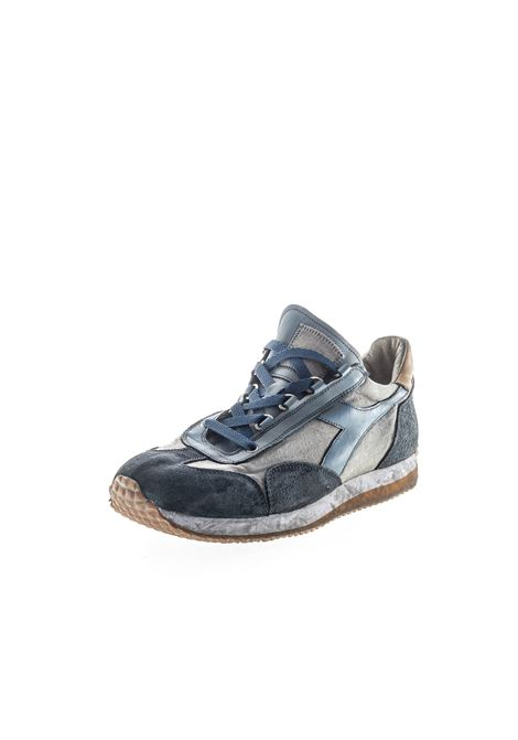 Diadora Heritage sneaker Equipe Dirty  blu DIADORA HERITAGE | Sneakers | 174736EQUIPE H DIRTY-60030