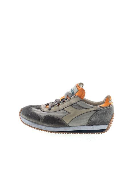 Diadora Heritage Sneaker Equipe Dirty grigio/arancione DIADORA HERITAGE | Sneakers | 174736EQUIPE H DIRTY-75018
