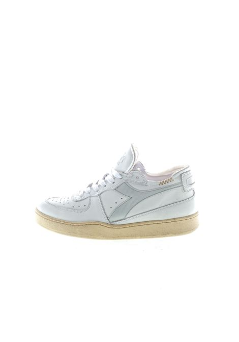 Diadora Heritage Mi Basket bianco/grigio DIADORA HERITAGE | Sneakers | 176282MI BASKET-C8450