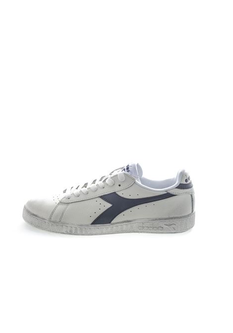 DIADORA SNEAKER LOW WAXED BIANCO/NERO DIADORA LIFESTYLE | Sneakers | 160821GAME L WAXED-C0351