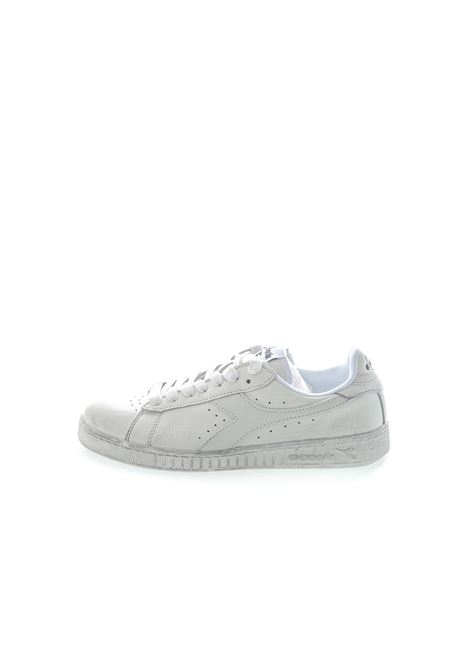 DIADORA SNEAKER LOW WAXED BIANCO DIADORA LIFESTYLE | Sneakers | 160821GAME L WAXED-C6180