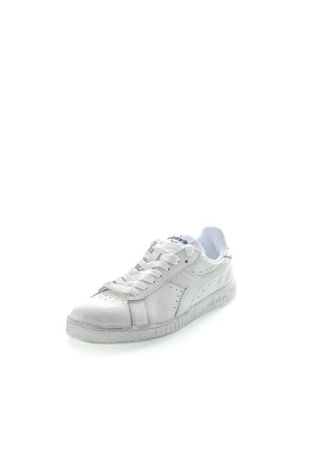 DIADORA SNEAKER LOW WAXED BIANCO DIADORA LIFESTYLE | Sneakers | 160821GAME L WAXED-C6180