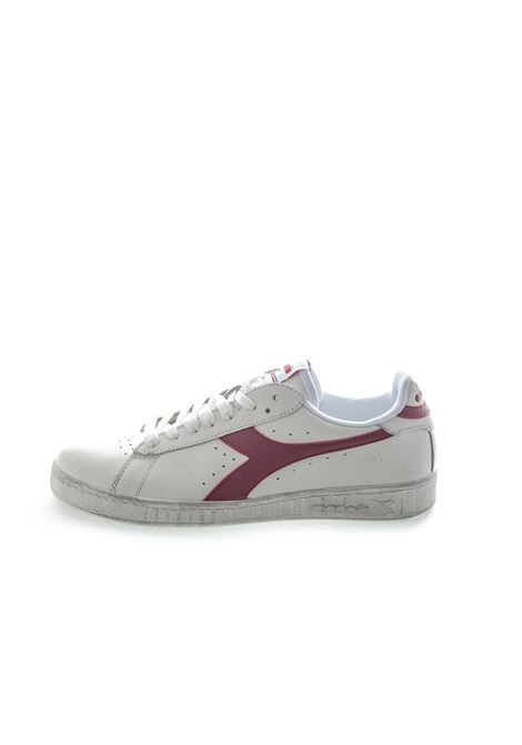 DIADORA SNEAKER LOW WAXED BIANCO/ROSSO DIADORA LIFESTYLE | Sneakers | 160821GAME L WAXED-C5147