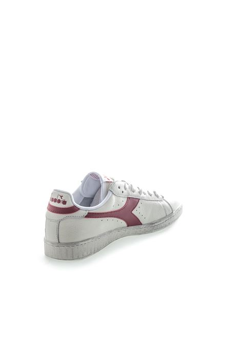 DIADORA SNEAKER LOW WAXED BIANCO/ROSSO DIADORA LIFESTYLE | Sneakers | 160821GAME L WAXED-C5147