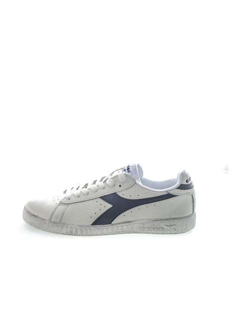 DIADORA SNEAKER LOW WAXED BIANCO/BLU DIADORA LIFESTYLE | Sneakers | 160821GAME L WAXED-C5262
