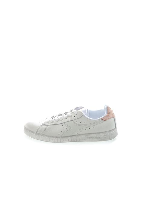 DIADORA SNEAKER LOW WAXED BIANCO/ROSA DIADORA LIFESTYLE | Sneakers | 160821GAME L WAXED-C8633