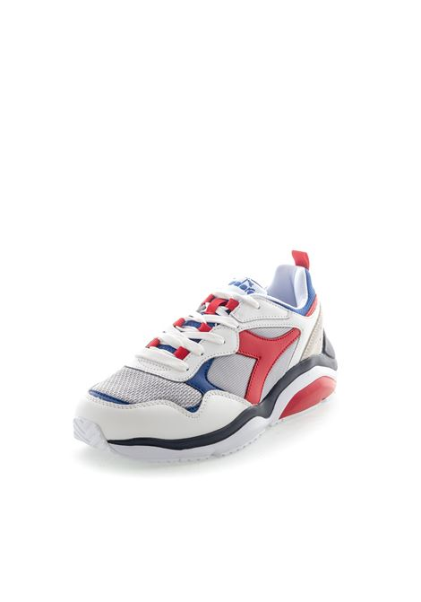Diadora Sneaker Whizz Run bianco/rosso DIADORA LIFESTYLE | Sneakers | 174340WHIZZ RUN-C8468