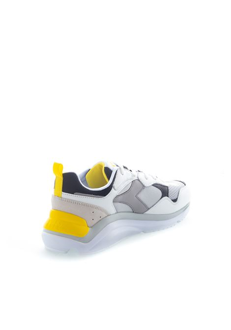 Diadora Sneaker Whizz Run bianco/giallo DIADORA LIFESTYLE | Sneakers | 174340WHIZZ RUN-C8471