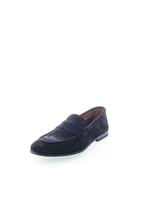 Doucal's Mocassino Loafer blu DOUCAL'S | Mocassini | 1945LOAFER-BLU