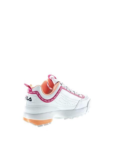 FILA SNEAKER DISTRUPTOR BIANCO/FUCSIA FILA | Sneakers | 1010748DISTRUPTOR-92U
