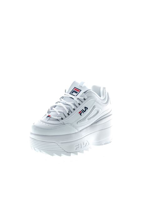 FILA SNEAKER DISTRUPTOR WEDGE BIANCO FILA | Sneakers | 1010865DISTRUPTOR WEDGE-1FG