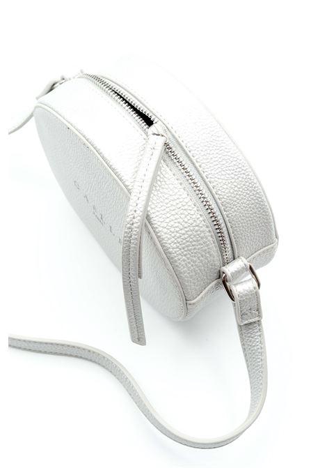 Gaelle borsa mini ovale argento GAELLE | Borse mini | 1416PELLE-ARGENTO