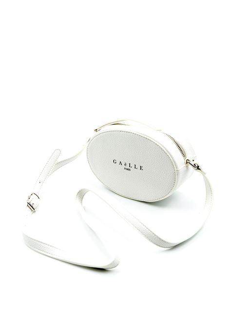 Gaelle borsa mini ovale bianco GAELLE | Borse mini | 1416PELLE-BIANCO