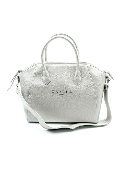 Gaelle Bauletto argento GAELLE   Borse a mano   1422PELLE-ARGENTO