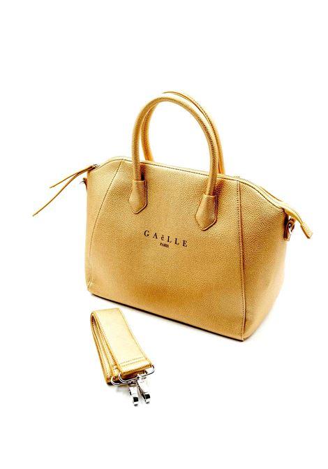 Gaelle Bauletto oro GAELLE | Borse a mano | 1422PELLE-ORO