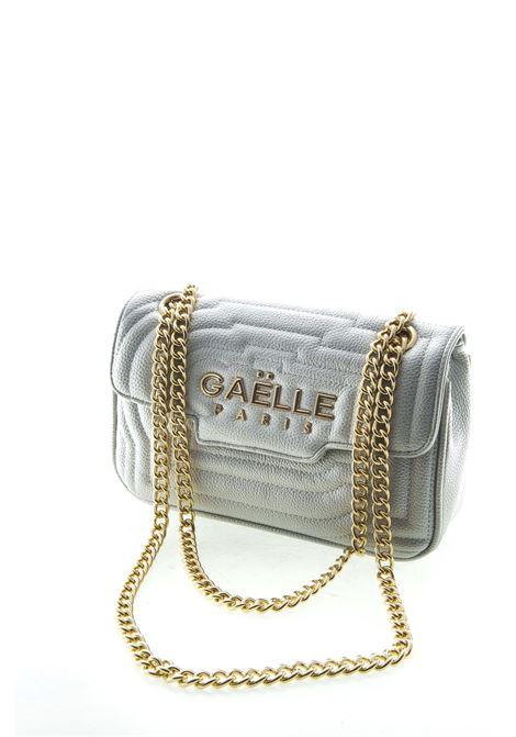 Gaelle tracolla media metal logo argento GAELLE | Borse a spalla | 1438BOTT-ARGENTO