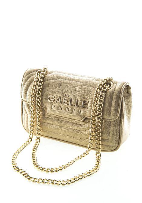 Gaelle tracolla media metal logo oro GAELLE | Borse a spalla | 1438BOTT-ORO